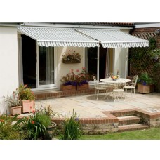 Standard Awning Multi-Stripe 3.5m x 2.5m - Manual