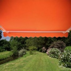 Standard Awning Terracotta 4m x 3m - Manual